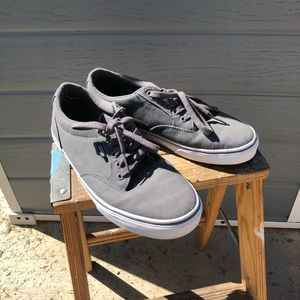 Vans grey tennis shoes
